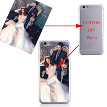 Phone Case Customize Print Picture Silicone Back Shell Personalized Cover Cases for Iphone 6 7 8 Plus XS MAX 5s SE 6S XR