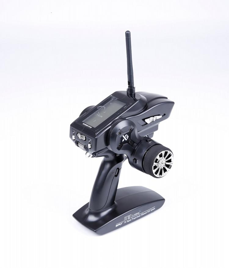 WFLY X4 2.4G 4CH Transmitters Gun Control WFX4 Cost-effective Remote Travel With WFR04H Receiver For RC Car And Boat