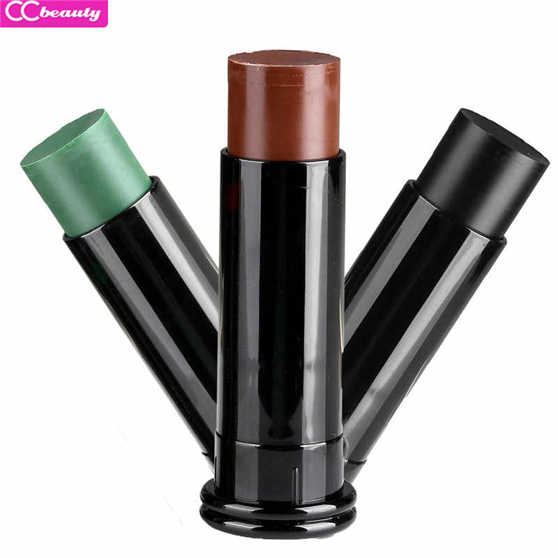 Ccbeauty Hot Face Paint Military Enthusiasts Supplies Cs Outdoor Field Bionic Oil Camouflage Color Body Painting Makeup 3 Colors