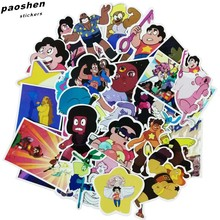 161d622fe97 32Pcs bag Steven Universe Funny Sticker Decal For Car Laptop Bicycle  Motorcycle Notebook Waterproof Stickers
