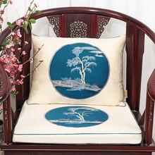Elegant  Thicken Sofa Chair Pads Seat Cushions Christmas Home Decor Lumbar Pillow High End Armchair Back Cushion