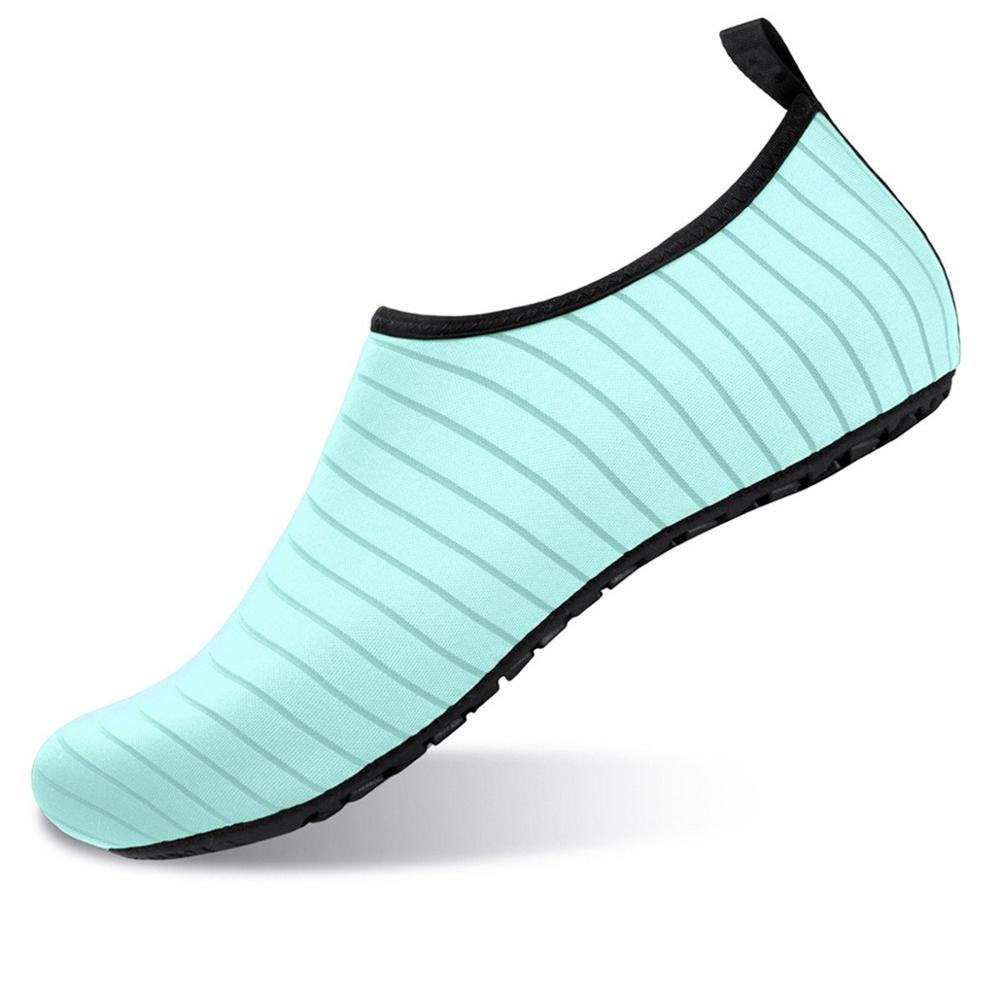 Men Women Water Shoes Swimming Shoes Solid Color Summer Aqua Beach Shoes Seaside Sneaker Socks slippers For Unisex Wading in Men 39 s Casual Shoes from Shoes