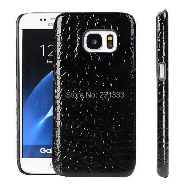 the latest c322e fe947 US $22.0 |Luxury Carbon Fiber Snake Leather Hard Case For Galaxy S8 PLUS S7  Edge 2017 A3 A5 A7 A3 2016 A310 A5 2016 A510 Cover Skin 10pcs-in ...