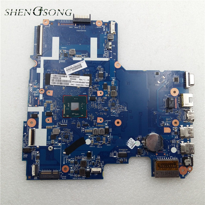 814050-501 814050-001 for HP Pavilion 14 14-AC159NR laptop motherboard SR29H N3050 CPU onboard 4GB memory 6050A2730201-MB-A01 731534 001 731534 501 for hp pavilion 17z e100 17z laptop motherboard a4 5000 cpu onboard ddr3 da0r76mb6d0
