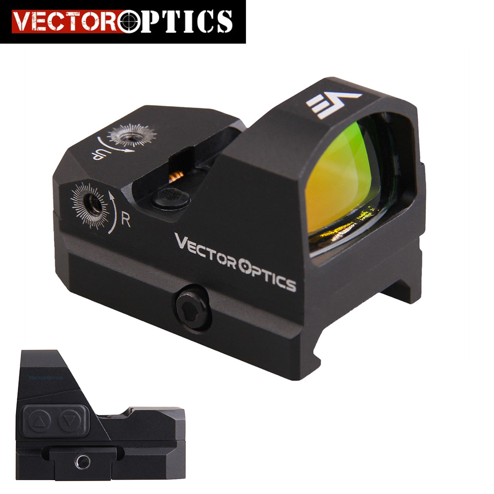 Vector Optics Gen2 Fureur AR15 M4 AK47 Pistolet Red Dot Portée Red Dot Sight Avec Preuve de L'eau fit pour 21mm Picatinny GLOCK 17 19