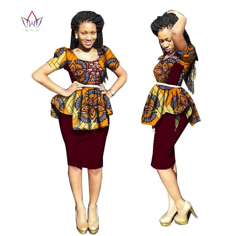 2018 Nykomlingar Traditionell afrikansk klänning Plus Storlek 2 - Nationella kläder - Foto 5