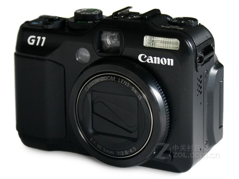 Used,Canon G11 Digital Camera Optical anti-jitter 10.4 million pixels image