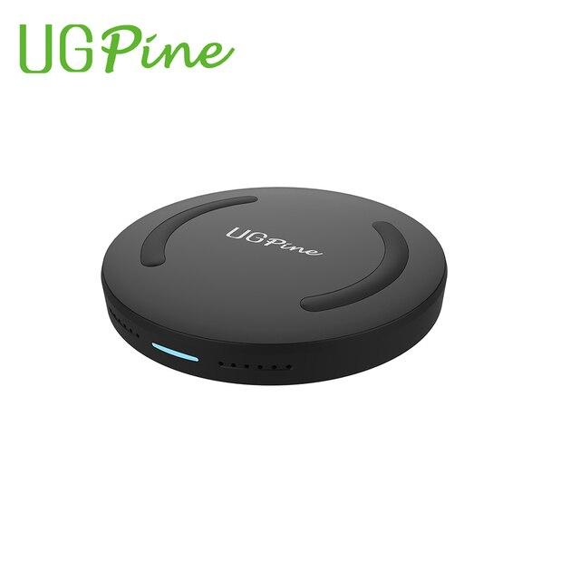 UGpine Ци Быстрое Беспроводное Зарядное Устройство, Беспроводной Зарядки Pad для Samsung Galaxy S6 S6 edge S7/S7edge Note5 и Всеми Ци-Устройств