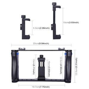 Image 3 - Держатель для смартфона PULUZ для прямой трансляции, видеосъемки, записи, Ручной Стабилизатор, кронштейн для iPhone ,Galaxy,Huawei,Xiaomi