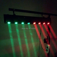 LED Bar Beam Moving Head Light RGBW 4x12W+4x12W Perfect for Mobile DJ, Party, nightclub SHEHDS Stage Lighting