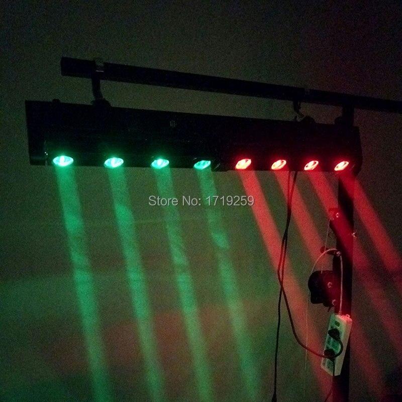 LED Bar Faisceau Lumière Principale Mobile RGBW 4x12 w + 4x12 w Parfait Pour Mobile DJ partie Discothèque SHEHDS Éclairage de Scène