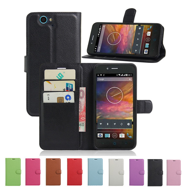Hot Selling For ZTE Blade L4 Pro Case Wallet Style PU Leather Case For ZTE Blade A475 T610 with Stand Function and Card Holder