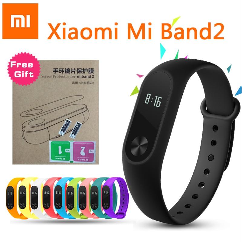 font b Xiaomi b font Mi Band 2 Smart Bracelet Smartband Miband 2 Sport Fitness