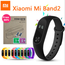 Xiaomi Mi Band 2 Good Bracelet Smartband Miband 2 Sport Health Exercise Tracker Pulseira Coronary heart Price Monitor With OLED Touchpad