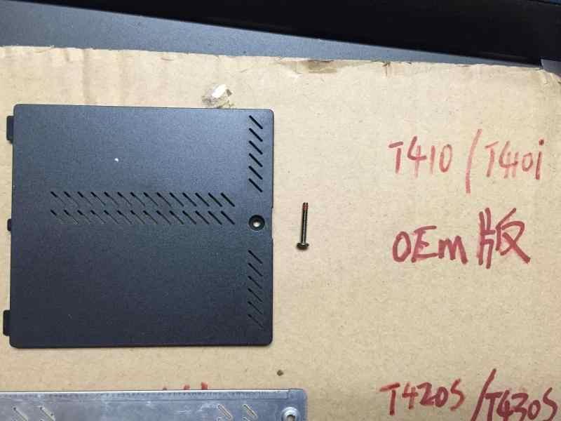 New Memory Cover For Lenovo Thinkpad T410 T410I T420S T430S T420Si T430Si  T510 T520 T530 W510 W520 W530 Laptop RAM Case Door