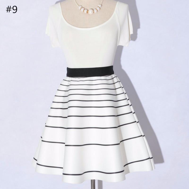 high waist skirt 11
