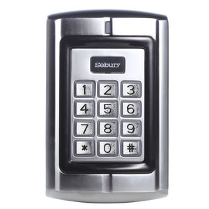 Image 2 - Gate Deur Access Toetsenbord Wachtwoord Reader 125 Khz Id Deur Toegangscontrole Wg 26 Reader