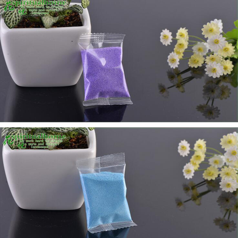 30g Natural Colored Sand Moss Micro Landscape Ornaments Made Of Rivers And Lakes Accessories Material Home Decoration