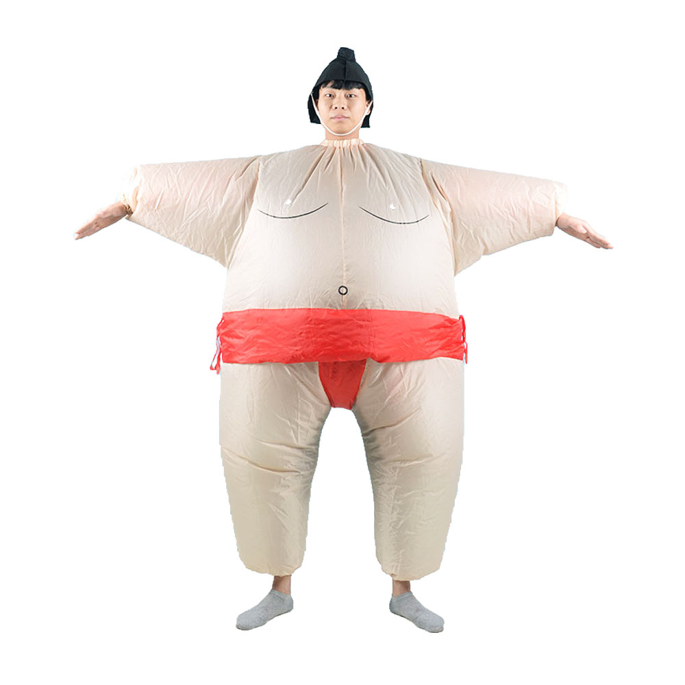 Sumo Inflatable Costume Adult Fancy Dress Sumo Suit Party Halloween Christmas