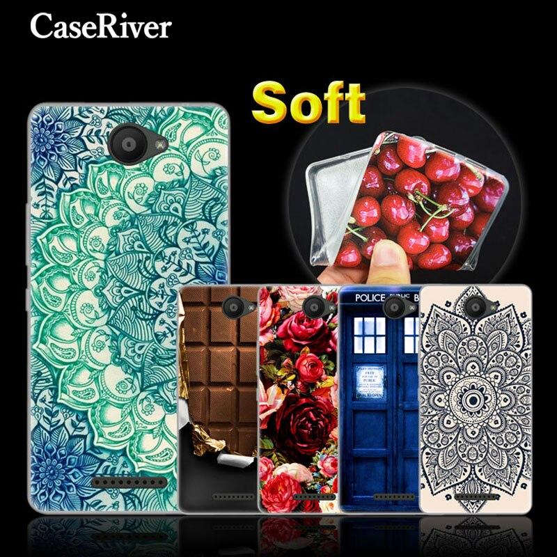 CaseRiver BQ Aquaris U Lite Case BQ Aquaris U Cover 5.0 inch Soft Silicone Phone Protective Case For BQ Aquaris U Lite Cases