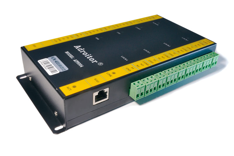 wiegand brand 32 bit TCP/IP four Door Control & power case 110V/220V option support software/ web/ smart phone / fire alarm etc - 5