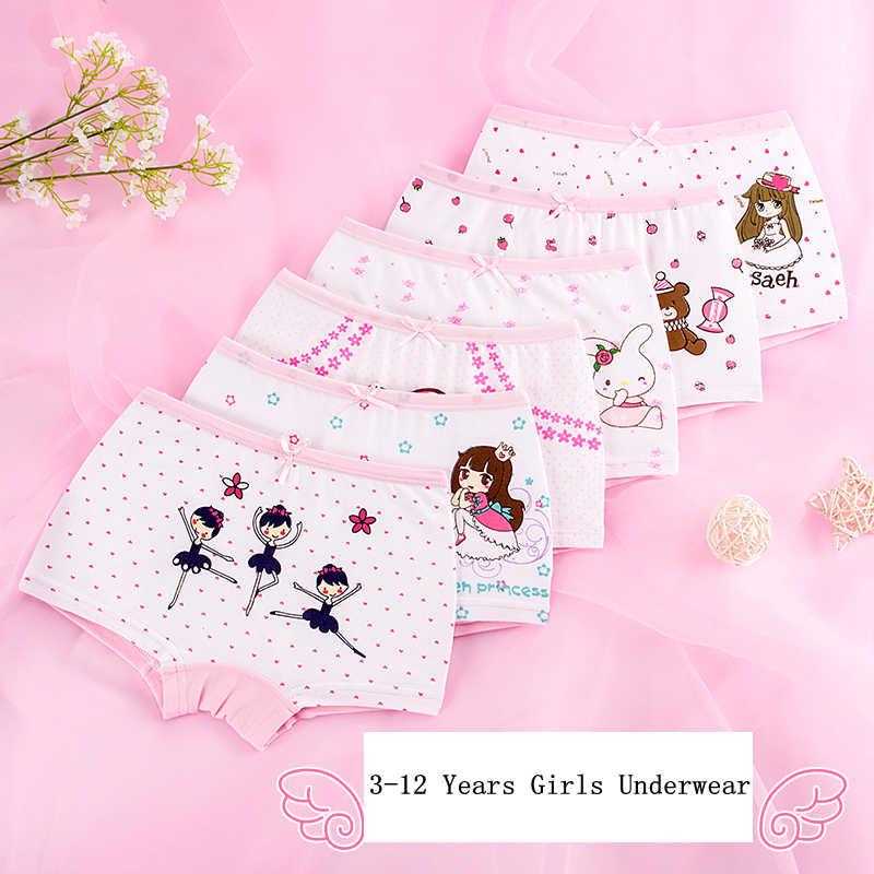 نوعية جيدة الفتيات الملابس الداخلية الملاكم القطن الاطفال الكرتون سراويل الأطفال الأميرة داخلية الطفل السروال 2 قطعة/الوحدة و 4 قطعة/الوحدة