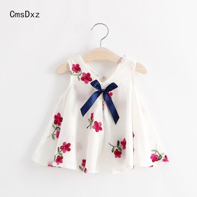 Cmsdxz 1 Ano De Cumpleanos Vestido Bordado Flor Del Ciruelo Del - Ropa-de-moda-para-bebe-de-un-ao
