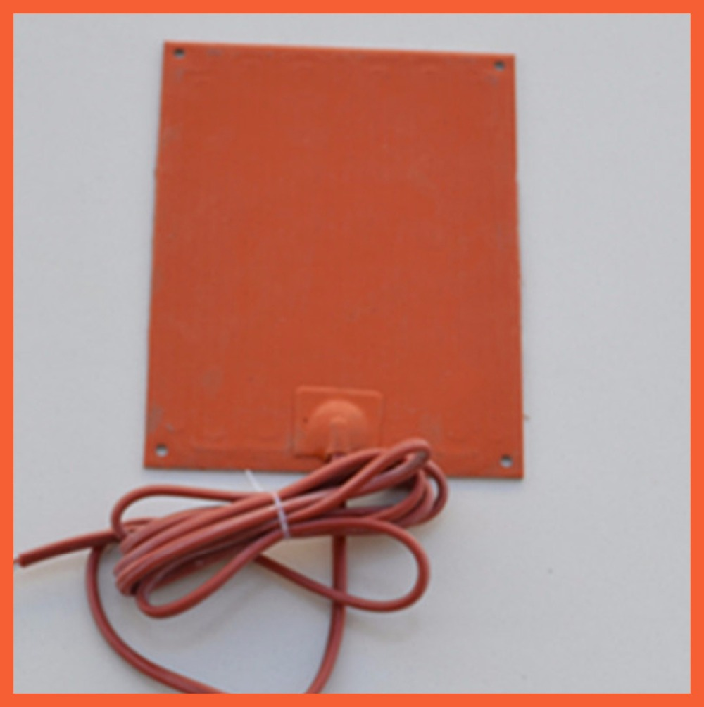 200*200MM 22V 150W Electric Cabinet Special heating silicone rubber aluminum plate Heating Silicome heater pad Chemical 200