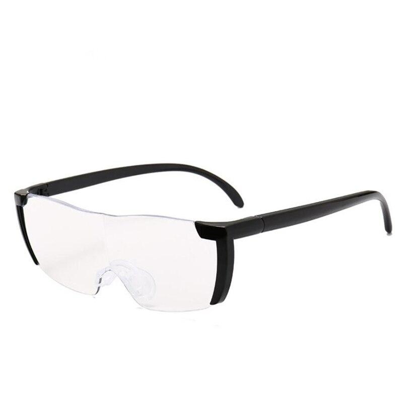 1,6 Mal Lupe Lesebrille Große Vision 250% Vergrößerung Presbyopie Brille Lupe Brillen + 250