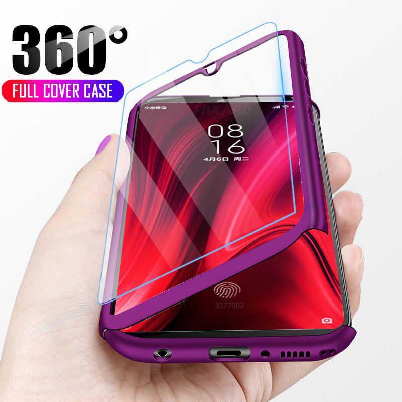 Funda de teléfono de lujo 360 para Redmi Note 7 5 6 K20 Pro 4X 6A Plus S2 a prueba de golpes para Xiaomi 9 8 6 Lite SE Fundas Capa