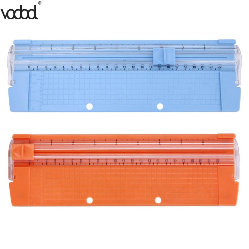 A4/A5 Paper Photo Trimmers Die Cutting Machine Punch with Pull-out Ruler New Hot for Photo Labels Paper Cutting Tool 3 Colors 3