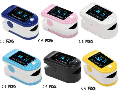 OLCD Pediatric Pulse oximeter Oxymeter pulse oximetry sensors CE FDA Approved Five color CMS50D exerpeutic lx905 training cycle with computer and heart pulse sensors