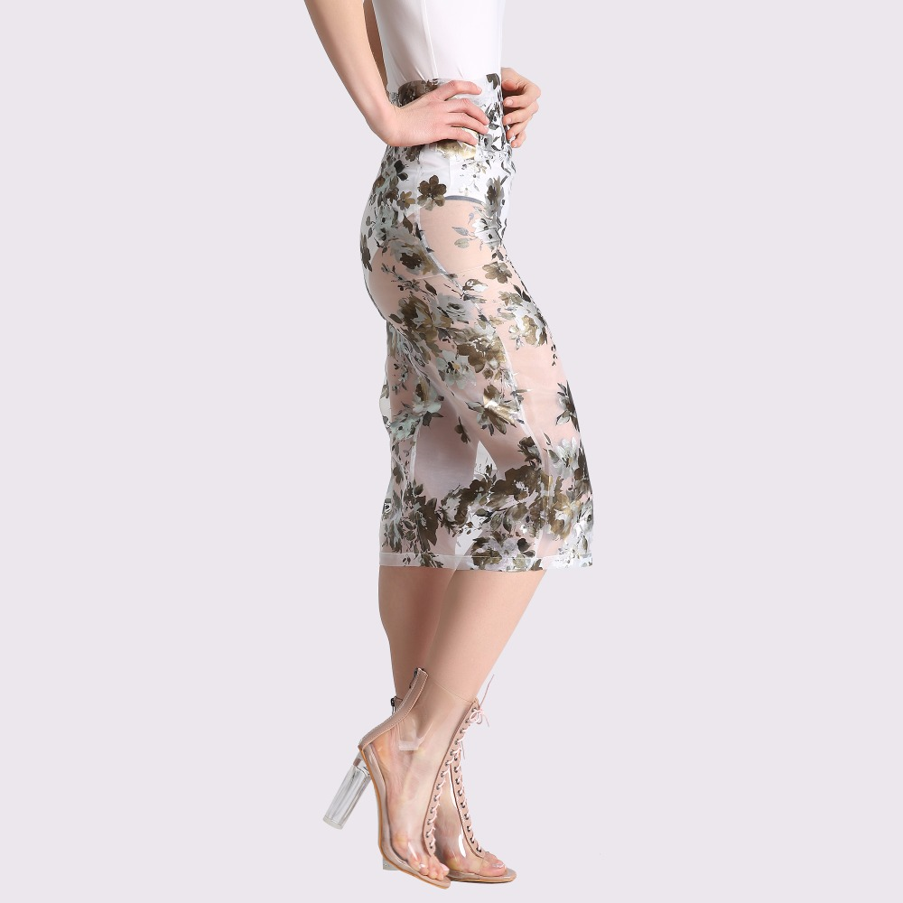 Long Voile Skirt 60