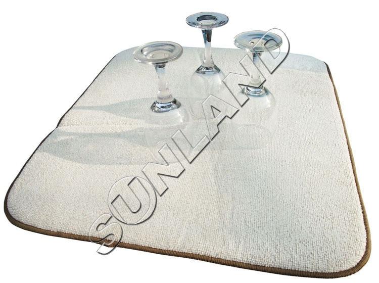 Sinland 40cmx46cm Microfiber Dish Drying Mat For Kitchen Microfiber Cushion Pad XL