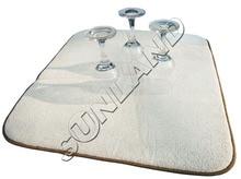Sinland 40 cm x 46 cm Mikrofaser Geschirrtrocknungsmatte Für Küche Mikrofaser Kissen Pad XL