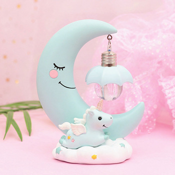 Unicorn Moon Night Lamp