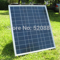 USA Stock No Tax 40w 18v Poly Solar Panel Pv Rv Boat For Charge 12v Battery