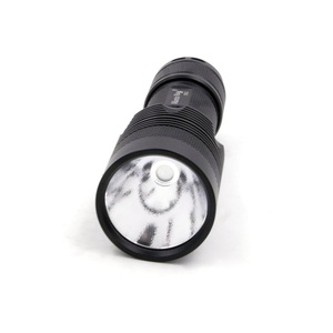 Image 2 - Manta Ray C8.2 Black Flashlight Host with 7mm hole or 10mm hole OP/SMO Reflecor