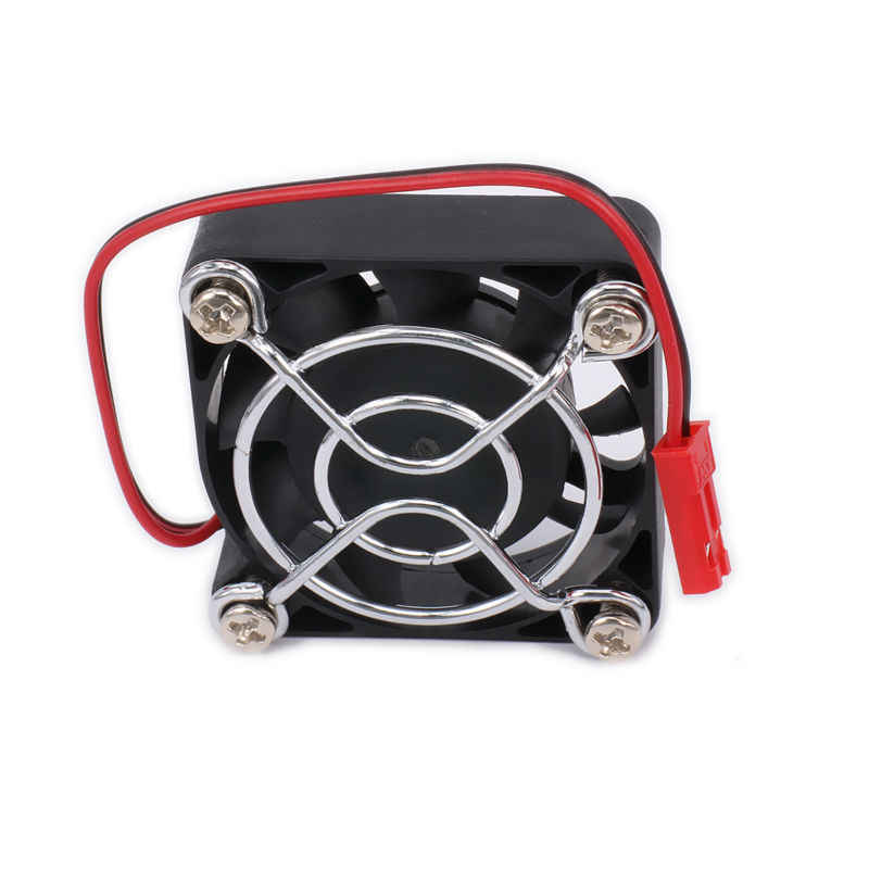 Koellichaam Motor Cooling Heatsink Koelventilator Alleen 40*40 30*30 25*25mm JST plug Voor RC Auto/Boot Motor Of ESC Koellichaam