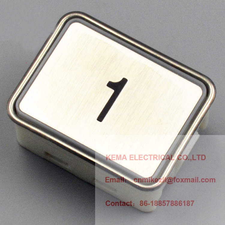 Delicious Mitsubish Elevator Hope Push Button Da340/ Mtd340 44.5*34*22.5mm Elevator Parts Electronic Accessories & Supplies