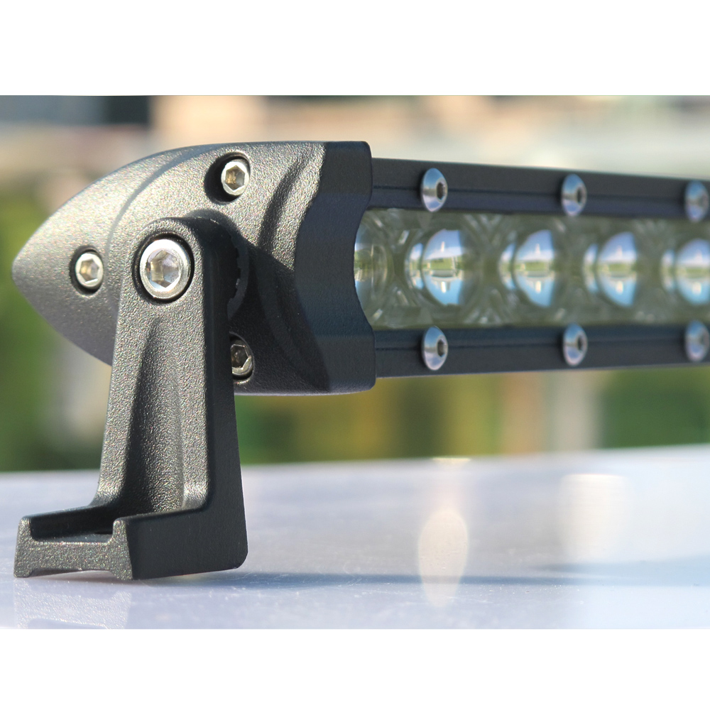 Image 3 - Super Slim 150W 32 Inch 6D Lens Led Work Bar Light 4x4 Offroad For Car Jeep ATV SUV 4WD Motorcycle Flood Beams Driving Lights-in Light Bar/Work Light from Automobiles & Motorcycles