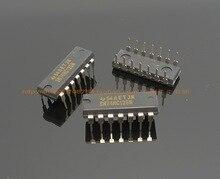 2018 hot sale 20pcs New TI original 74HC125 digital integrated IC logic gate circuit chip DIP14 board package free shipping
