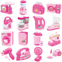 Mini Home Appliances Pretend Play Toys Kids Play House Kitchen Toys Set Educational Toys For Children