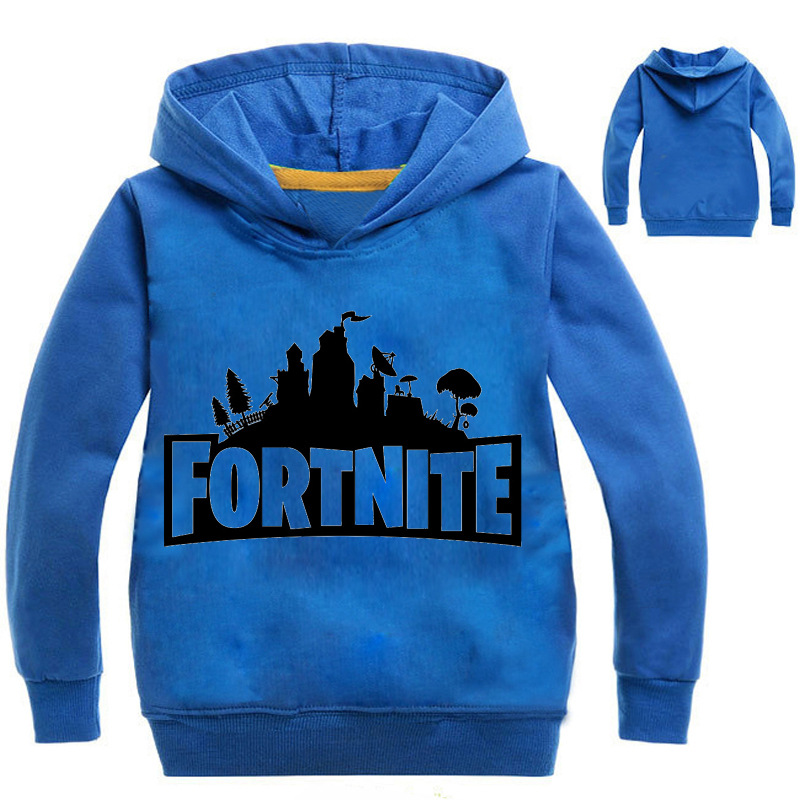 YLS 2-14Years Boys Fortnite Sweatshirt Girls Coats and Jackets Hoodie Infant Outerwear Toddler Kids Clothes for Teenager Francis