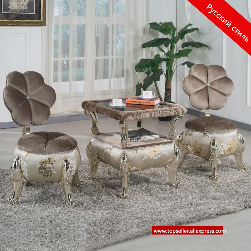 где купить European leisure tables and chairs fashion leisure sofa chair small coffee table beauty salon to discuss the single - chair 3pcs по лучшей цене