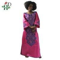 2018 African Cotton 100% dashiki dresses For Women bazin riche dress African African Custom Clothes