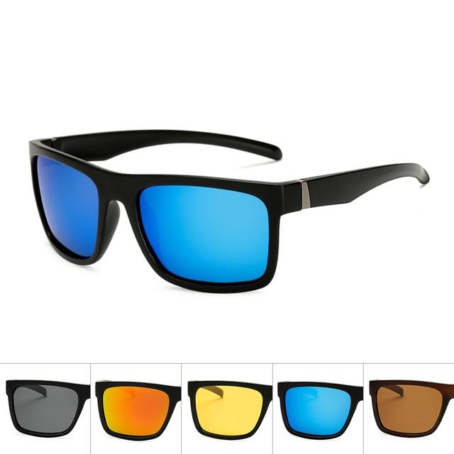 5e1dd26765 Polaroid sunglasses Unisex Square Vintage Sun Glasses Famous Brand  Sunglases polarized Sunglasses retro Feminino For Women Men