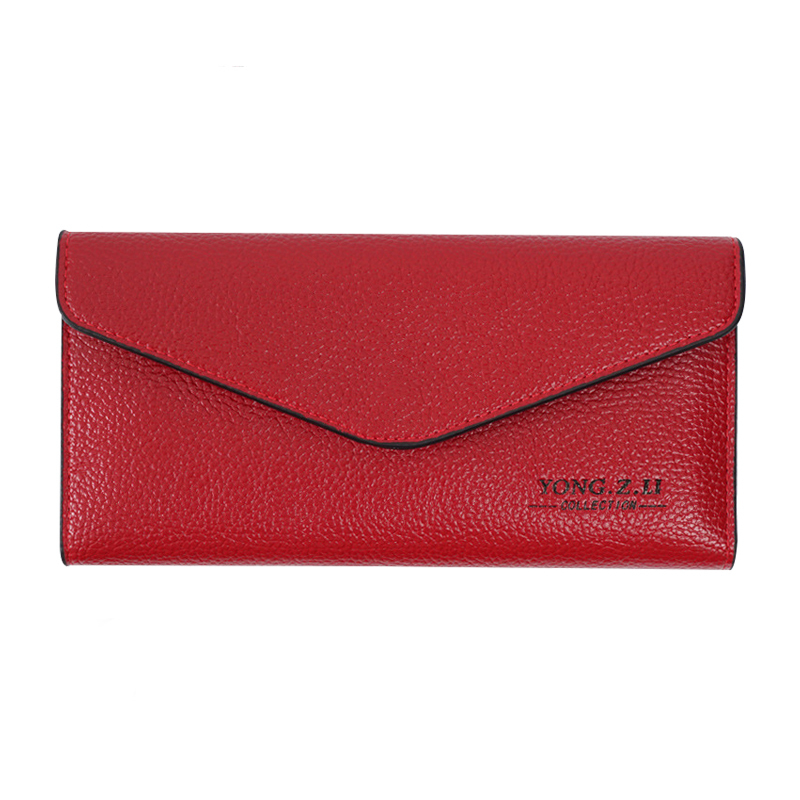 High Quality Fashion Brand PU Leather Women Wallets Long Slim Ladies Coin Purse Cards Holder Clutch Bag Magic Thin Wallet Female