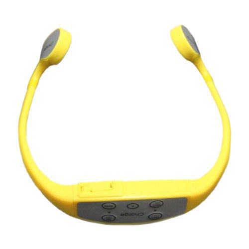 New IPX12 10 Meter Waterproof Mp3 Sports Bone Conduction Headset with Built-in 8GB Capacity For Swimming or Diving