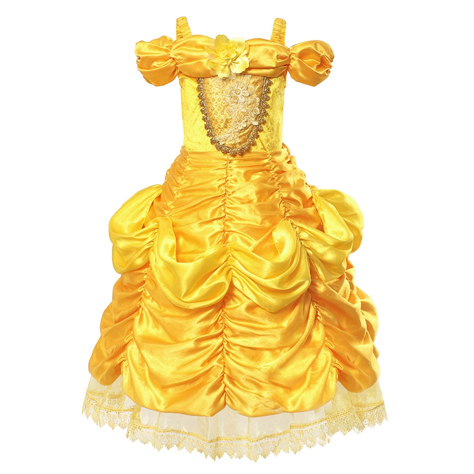 Girls Belle Costume (1)